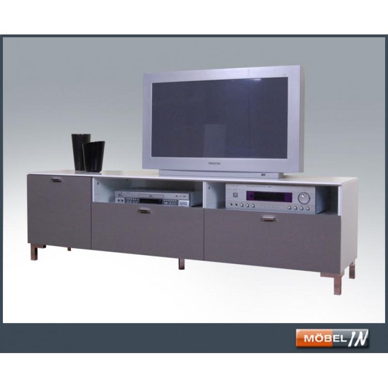 Kommode Tv Bank Media Schrank Sideboard Lowboard Ablage In Weiss