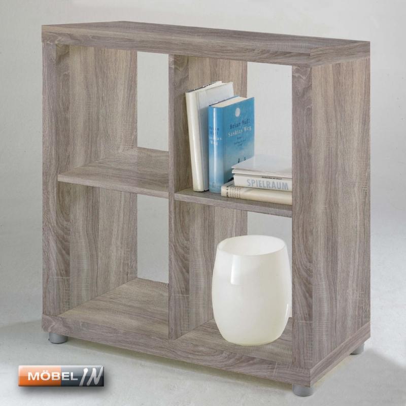 raumteiler aufbewahrung regal ablage cd b cherregal 4 f che. Black Bedroom Furniture Sets. Home Design Ideas