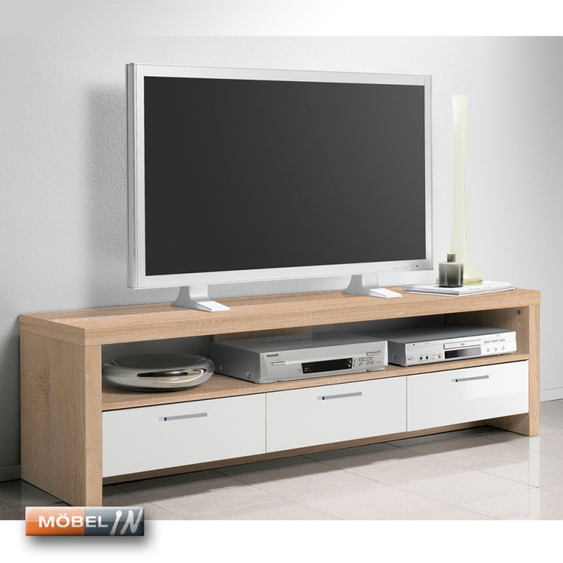 TV-Bank Mediaschrank Iceberg Sideboard Regal Lowboard Kommode Ablage