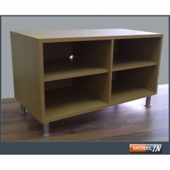 tv bank sideboard regal anrichte ablage lowboard. Black Bedroom Furniture Sets. Home Design Ideas