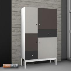 kommode schrank anrichte regal highboard sideboard ablage. Black Bedroom Furniture Sets. Home Design Ideas